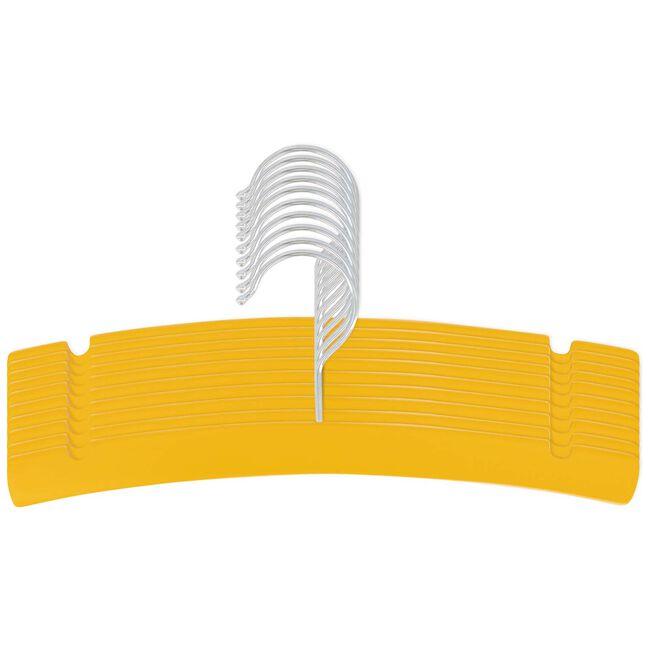 Prénatal kledinghanger hout 10 stuks - Spice Yellow