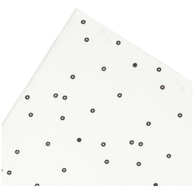 Prénatal ledikantlaken zwarte dot -