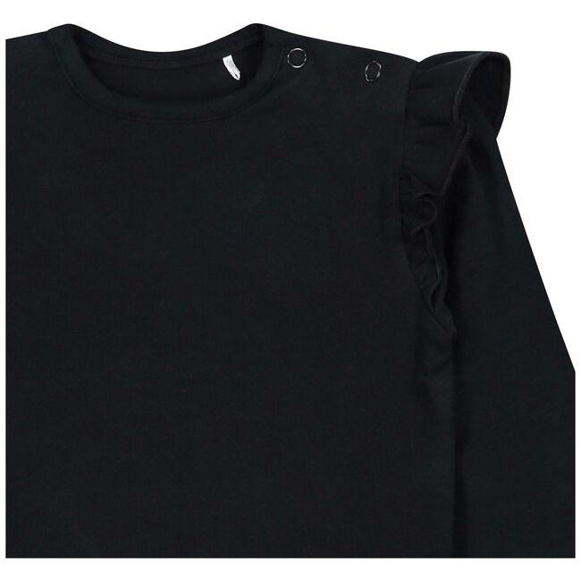 Prenatal baby meisjes T-shirt - Black