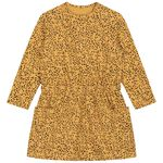 Prénatal baby meisjes jurk - Gold Yellow