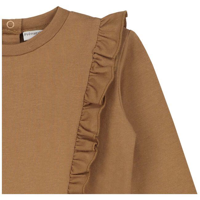 Prénatal peuter meisjes t-shirt - Brown Shade