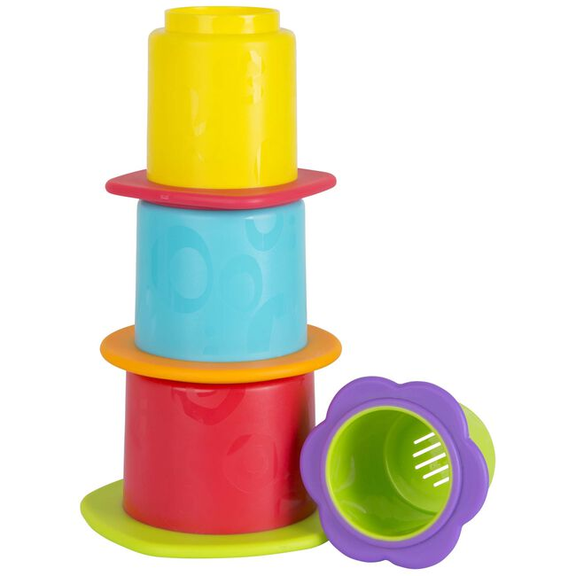 Playgro badbekers stapelbaar - Multi