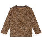 Prenatal peuter jongens t-shirt - Brown Shade