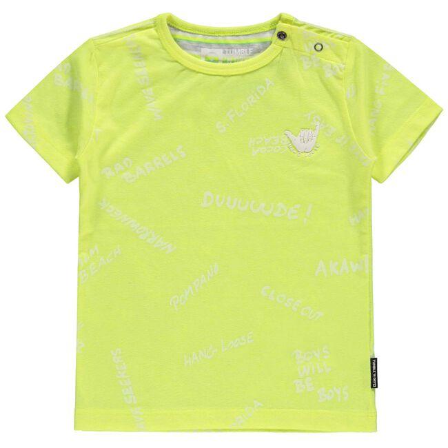 Tumble 'N Dry peuter jongens t-shirt - Yellow
