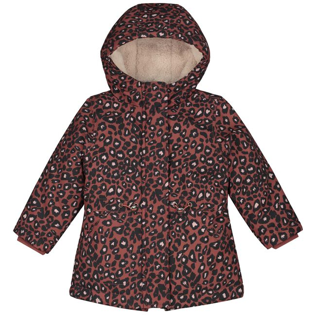 Prénatal peuter meisjes jas - Red Brown
