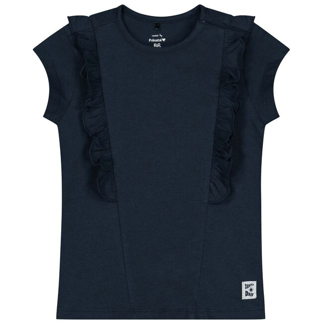 Prénatal baby meisjes t-shirt - Dark Blue