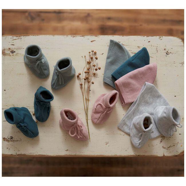 Prénatal newborn unisex slofjes - Soft Grey Melange