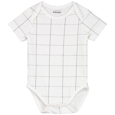 ed5bd4ee102815 snel bekijken · Prenatal baby en peuter unisex romper - White