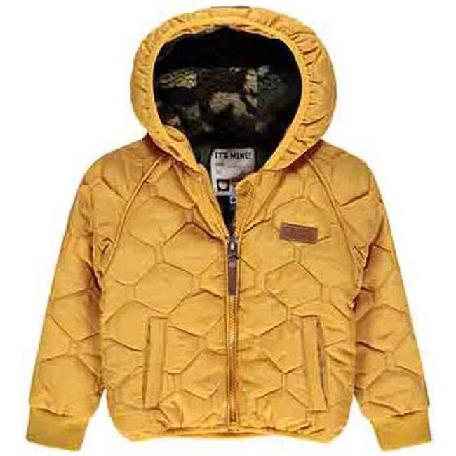 Tumble 'N Dry peuter jongens jas - Dark Yellowshade