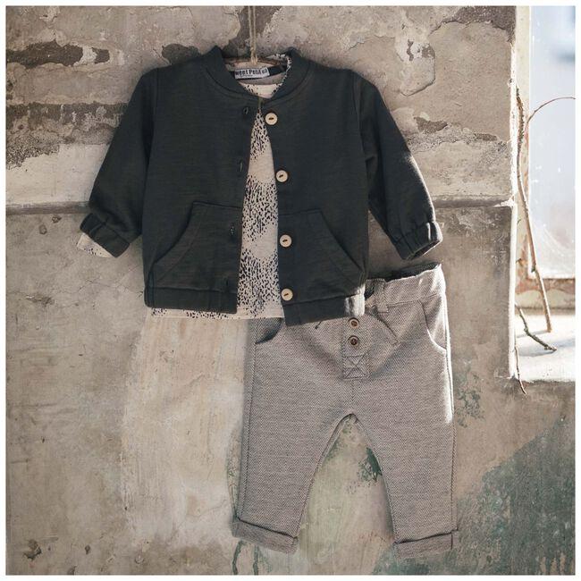 Sweet Petit baby jongens broek Lou - Black/Brown