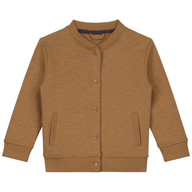Prénatal baby jongens vest - Brown Shade