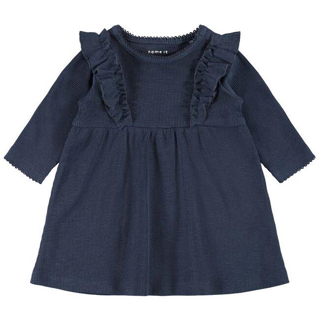 Name it meisjes jurk - Dark Blue