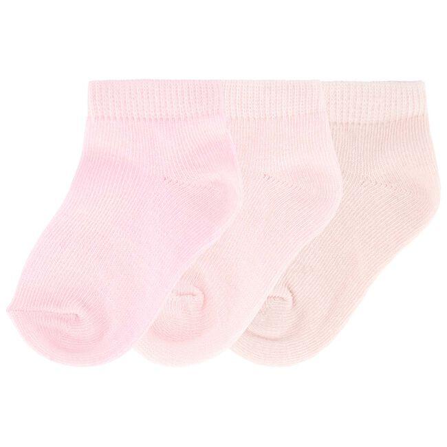 Prenatal meisjes enkelsokken roze - Powder Pink