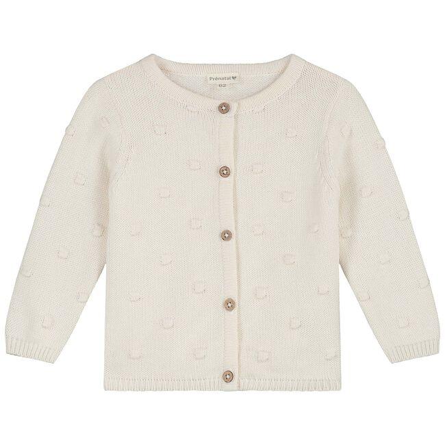 Prenatal newborn meisjes vest - Dark Off-White
