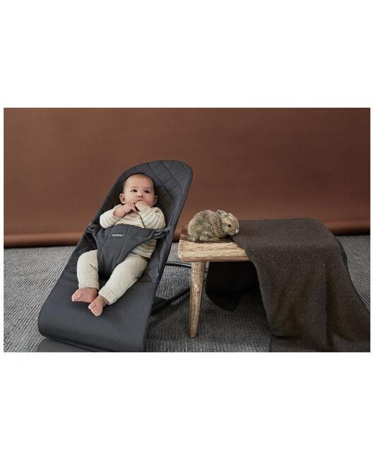 BabyBjörn wipstoel bliss cotton - Anthracite