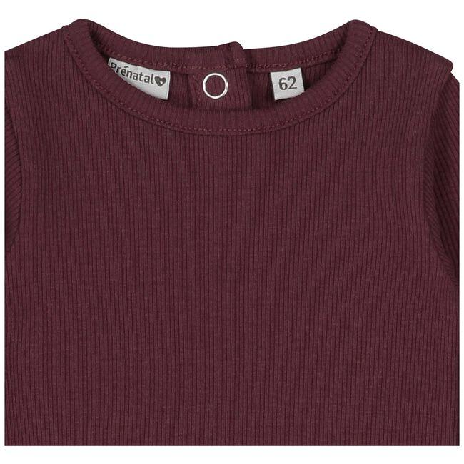 Prénatal baby meisjes T-shirt - Dark Redshade