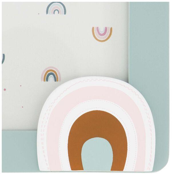 Prenatal fotolijstje regenboog -