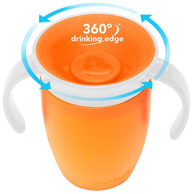 Munchkin drinkbeker miracle 360 207ml 6+ maanden - Orange