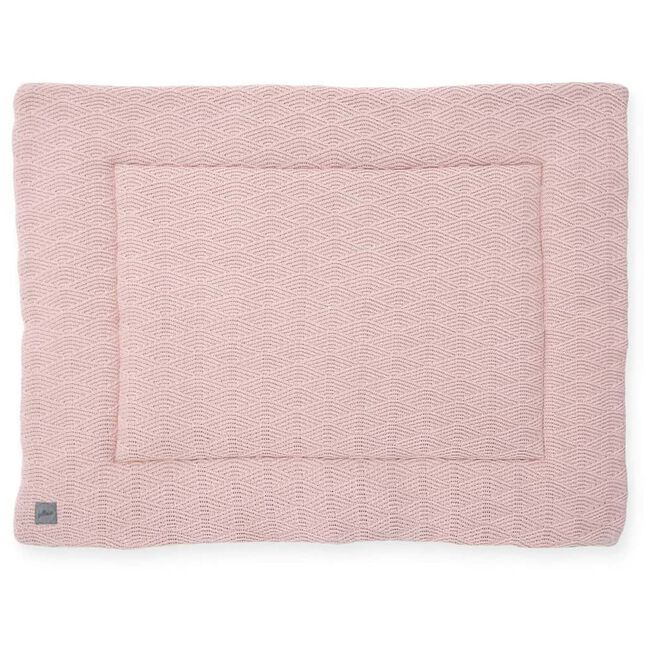Jollein boxkleed 80x100cm - River knit - Pink Shade