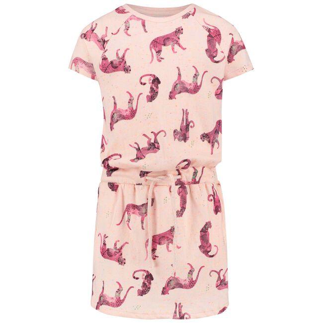 Noppies peuter meisjes jurk - Light Redshade