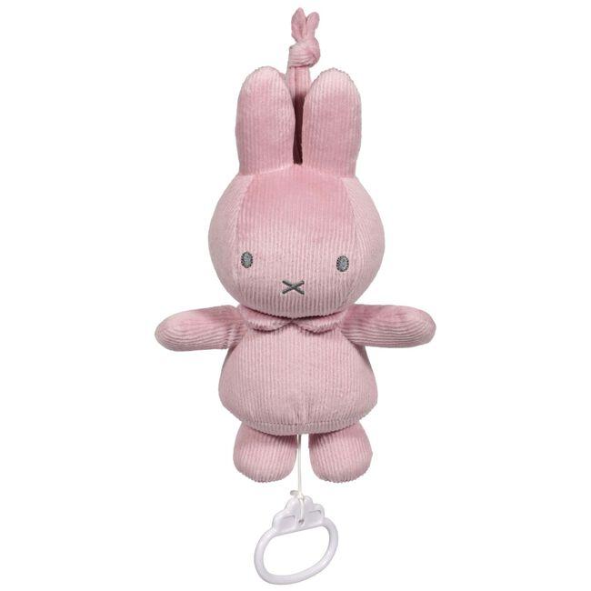 Nijntje muziekdoos rib roze - Pink