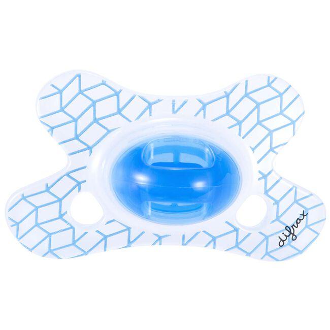 Difrax fopspeen natural 0-6 maanden - Blue