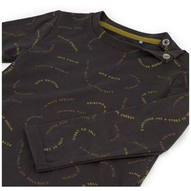 Prenatal baby jongens t-shirt - Stonegrey