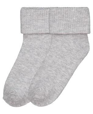 Prénatal peuter sokken 2 paar - Grey