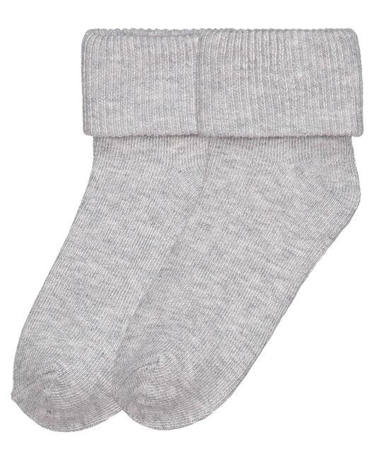Prénatal peuter unisex sokken 2-pack - Grey