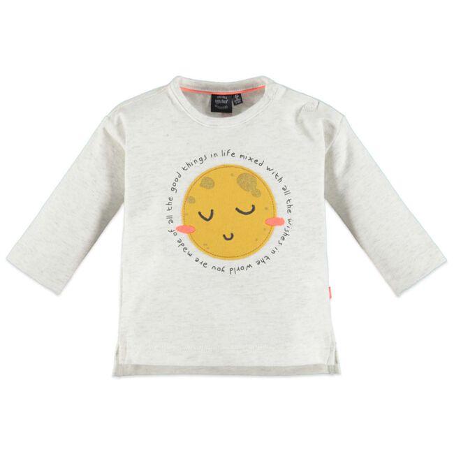 Babyface meisjes T-shirt - Grey Melee Light