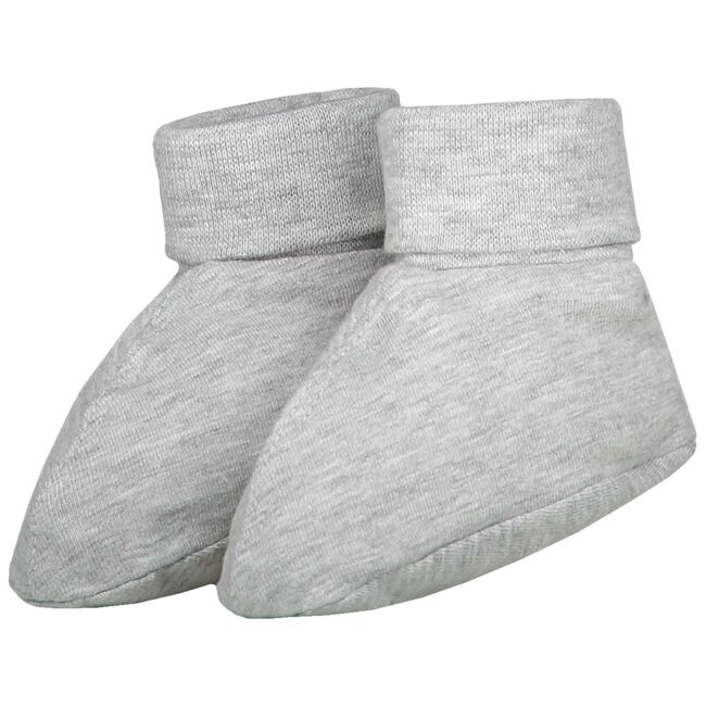 Prénatal newborn unisex slofjes - Grey/Black Denim