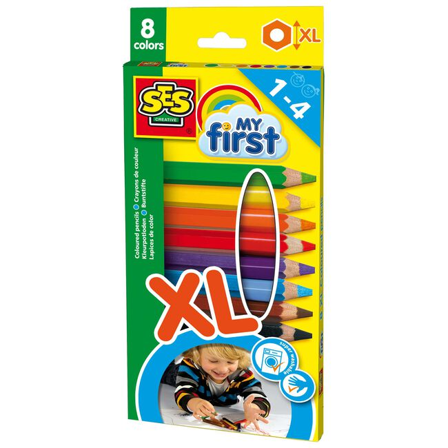 SES My First kleurpotloden - Multi