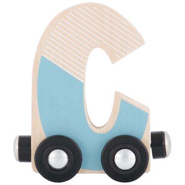 Prénatal houten namentrein letter C -