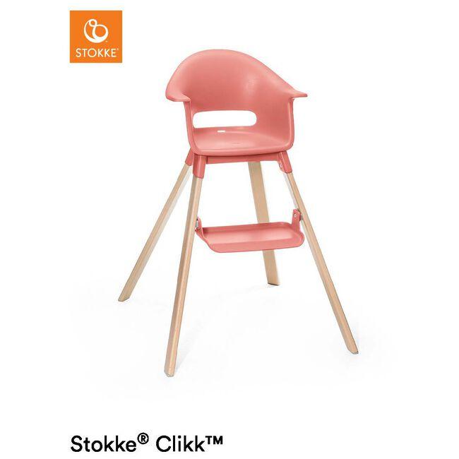 Stokke Clikk High Chair - Peach Orange