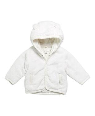 08333325c4c3dc snel bekijken · Prénatal newborn unisex jas Vriendjes - Off-White