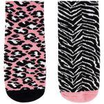 Prénatal meisjes antislip sokken 2 stuks - Pink