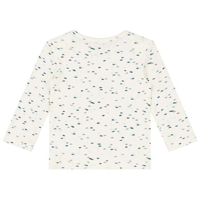 Prenatal newborn unisex shirt - Dark Aqua
