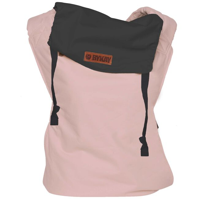 ByKay Click Carrier Reversible draagzak - Steel Grey/ Vintage Pink
