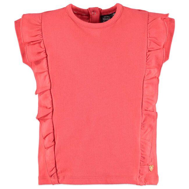Babyface peuter meisjes T-shirt - Coralred