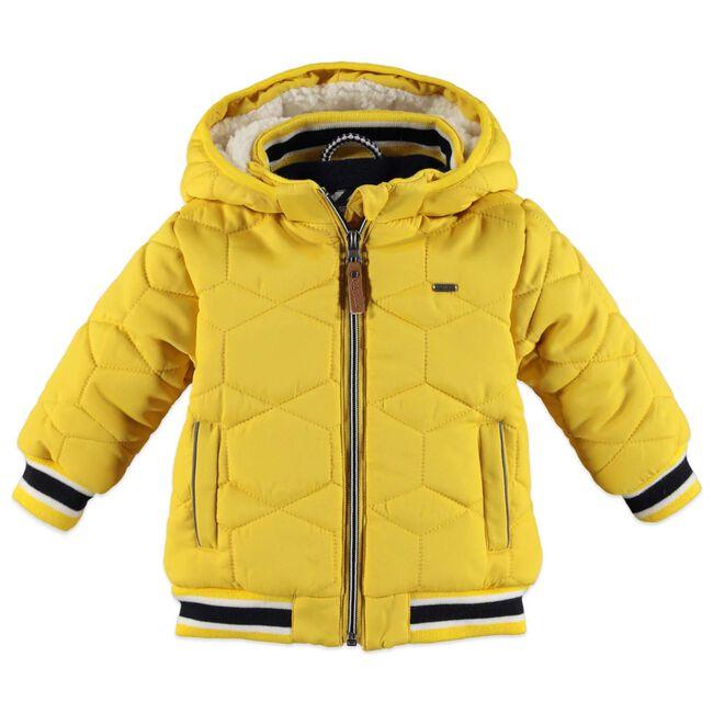 Babyface peuter jongens winterjas - Yellow