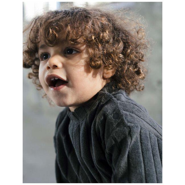 Sweet Petit peuter jongens t-shirt Dyce - Black/Brown