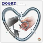 Dooky haak hart - Blue