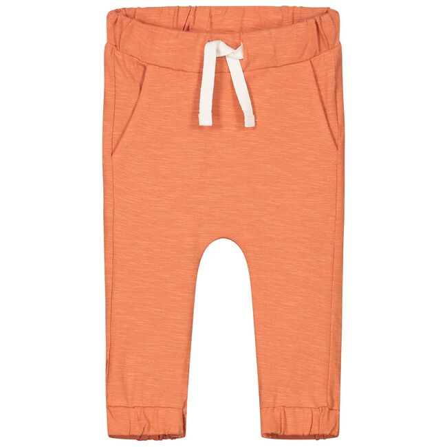 Prénatal newborn unisex broekje - Warm Orange