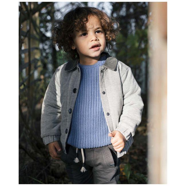 Sweet Petit peuter jongens broek Milas - Black/Brown