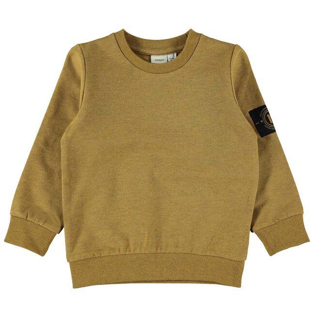 Name it peuter jongens sweater - Brown