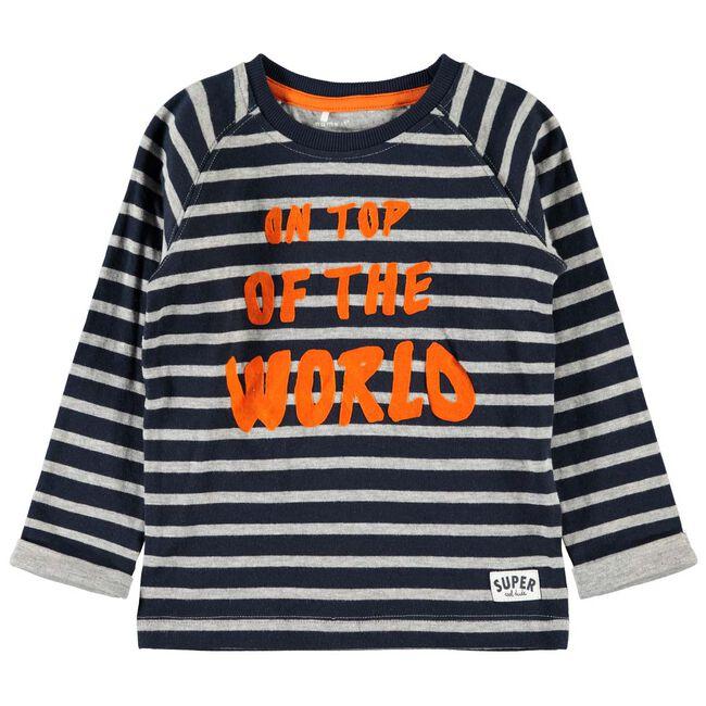 Name it peuter jongens t-shirt - Dark Blue