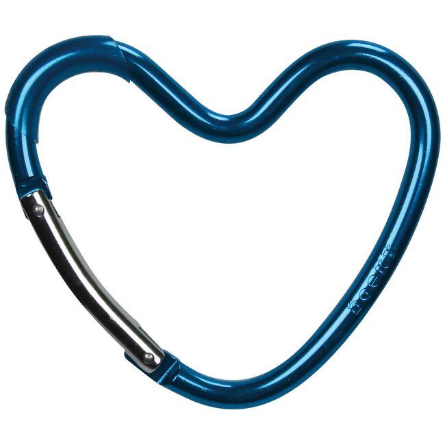 Dooky buggyhaak hart - Blue