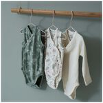 Prénatal newborn overslagromper mouwloos -