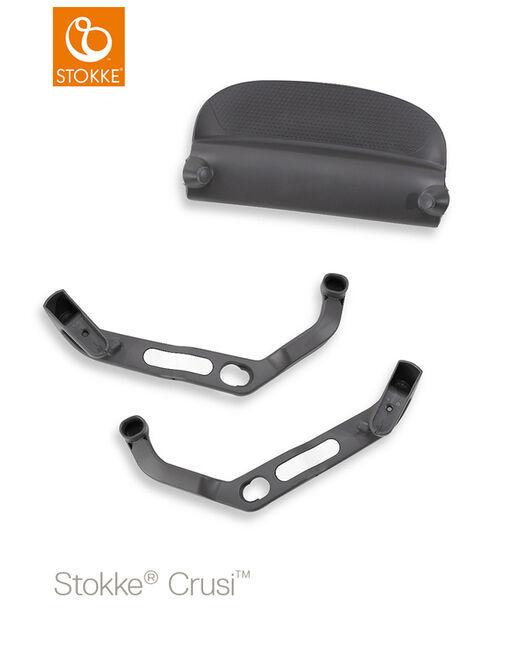 Stokke Crusi adapters voor Sibling Seat - Black