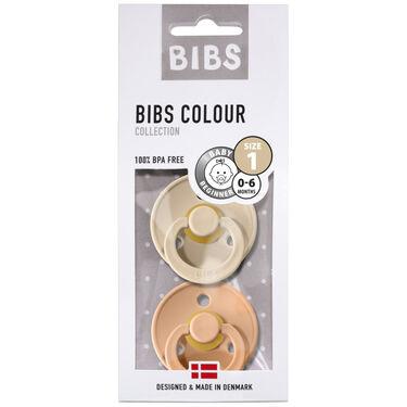 Bibs fopspeentje Size 1 - Vanilla/ Peach